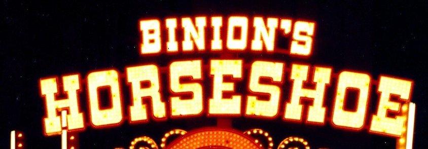 Chris Boyd deed zijn inzet bij de Binion's Horseshoe in Las Vegas Nevada.