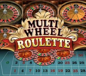 Microgaming Multi Wheel Roulette Logo