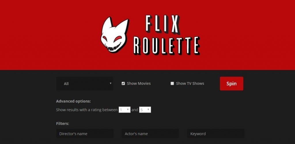 Dankzij Netflix roulette kan je snel een leuke serie of film kijken