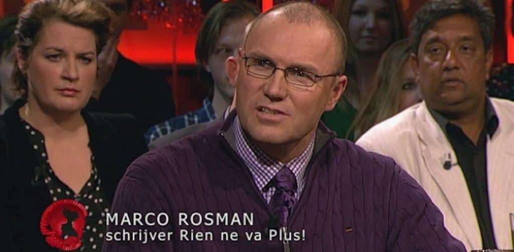 Marco Rosman schrijver van Rien ne va plus en ex-medewerker van het Holland Casino