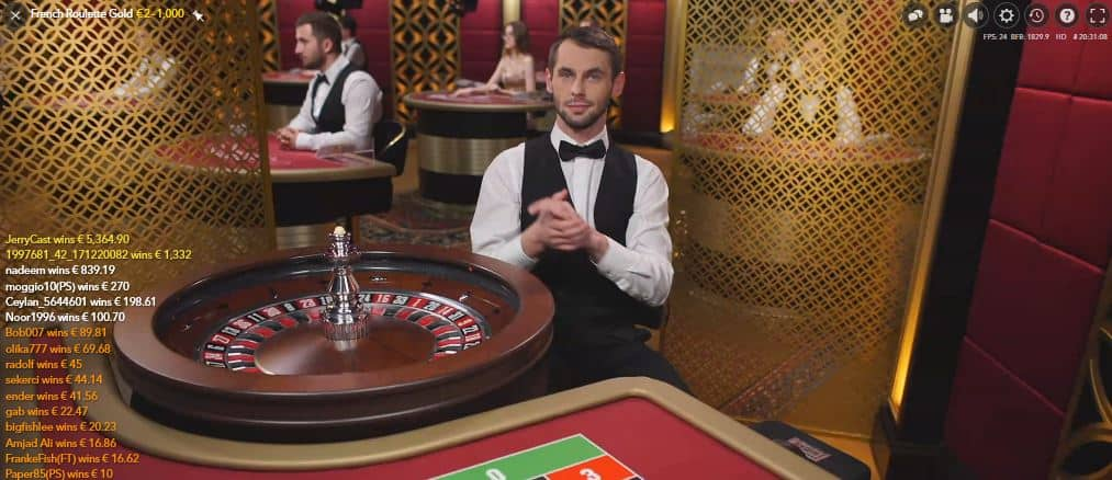 Winnen met French Roulette Gold