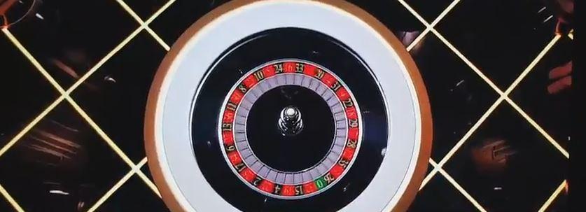 De roulette wiel van lighting roulette