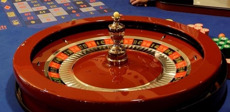 De wiel van Roulette 73