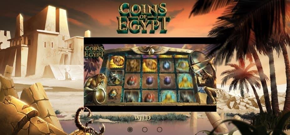 Videoslot Coins of Egypt