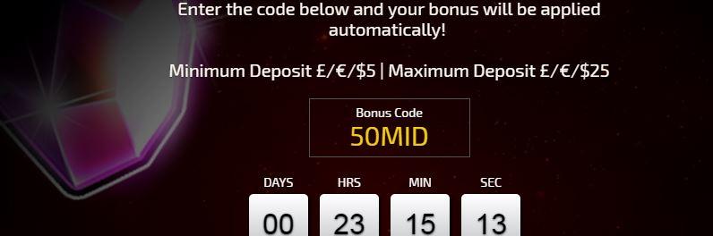 daily casino bonus