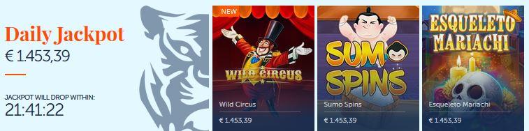 jackpot gokkasten oranje casino
