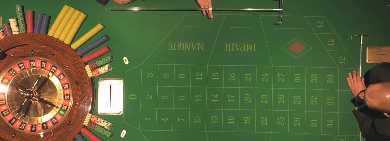 In een echt casino Live Frans roulette spelen