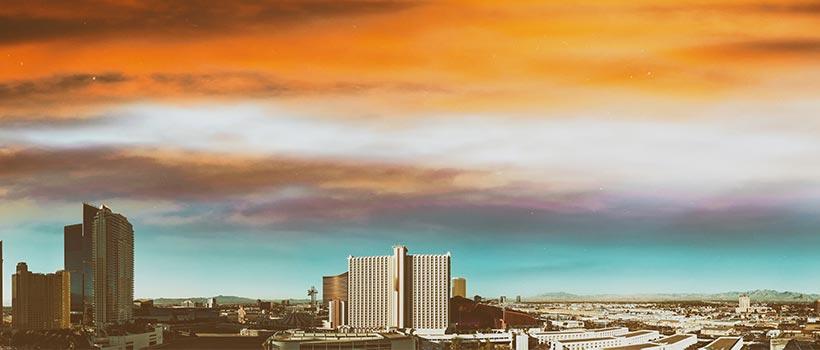 Overzicht van Las Vegas
