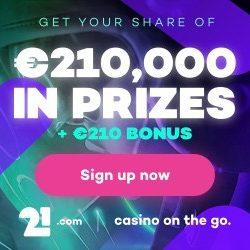 Bonus van 21.com casino