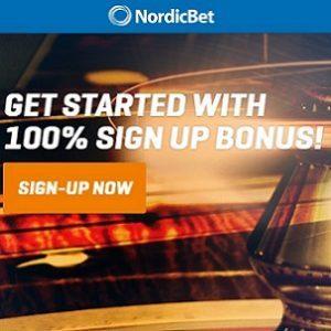 NordicBet Banner