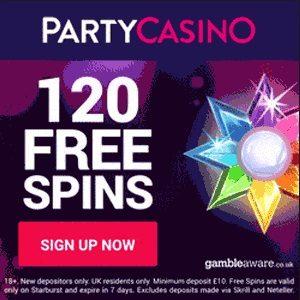 PartyCasino bonus