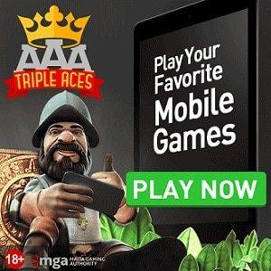 Triple Aces Banner
