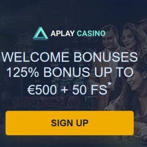 Welkomstbonus van Aplay Casino