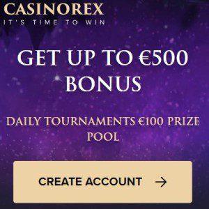 Welkomstbonus Casinorex