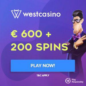 Welkomstbonus van West Casino