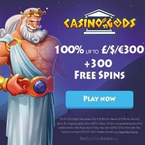 Bonus van Casino Gods
