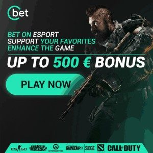 De 100% bonus van Cbet