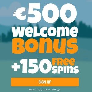 tot €500 bonus bij Craze Play Casino