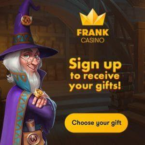 Bonus van Frank Casino