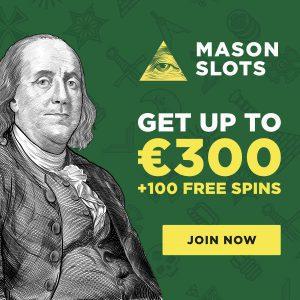 Mason Slots bonus