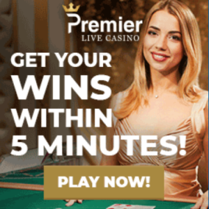 Bonus van Premier live casino