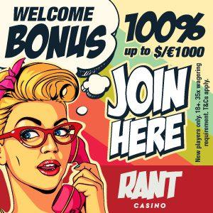 Bonus van Rant Casino
