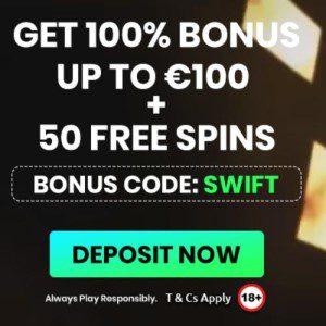 Bonus van Swift Casino