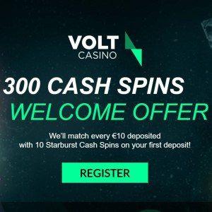 Bonus van Volt Casino