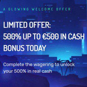 Welcome bonus van Neon Vegas Casino