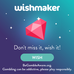 Wishmaker casino banner